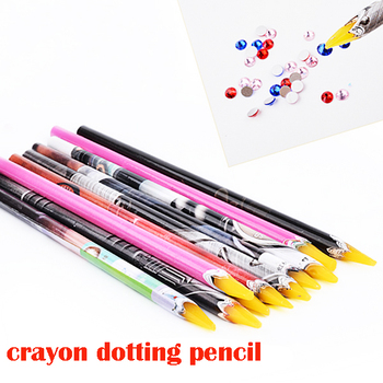 new wooden crayons colour pencil dotting pencil