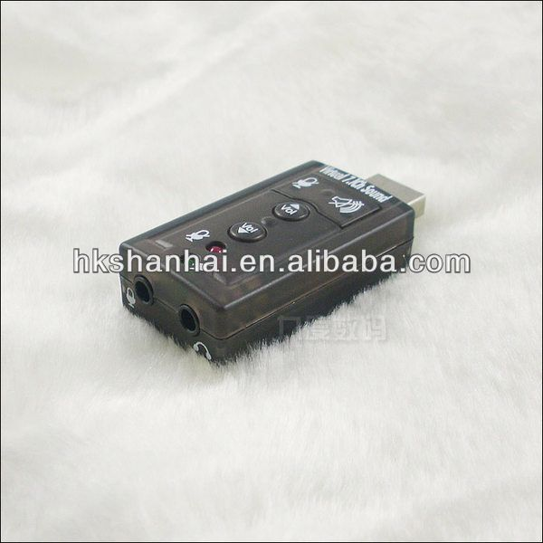 Mini USB Sound Card external sound card