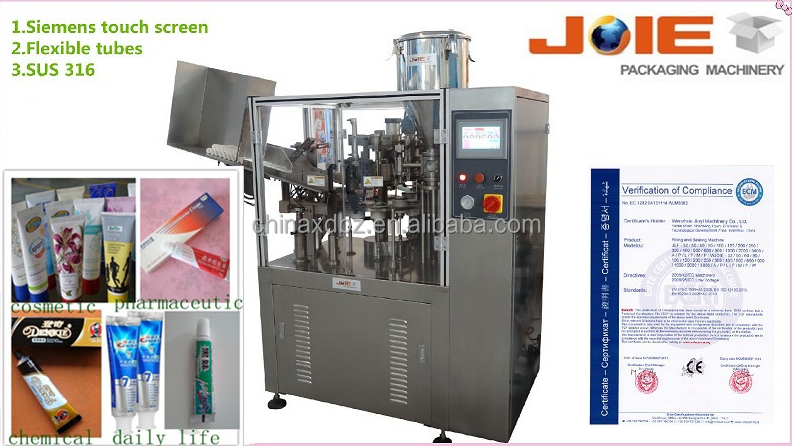 manual cosmetic tubes filling machines