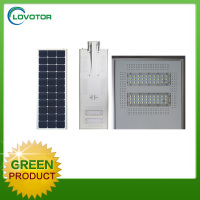 50W led all in one solar street light integrated street light for road