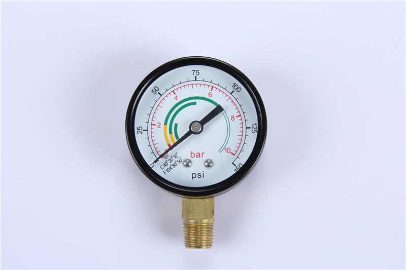 New style products China easy to read 0-600 bar high quality vaccum pressure gauge
