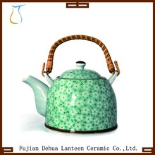 1000ml Ceramic Tea kettle pot With Stainless Steel Strainer