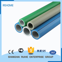 Plastic extrusion Colours Environmental Green or White r200p material ppr pipe for cold water china sizes chart