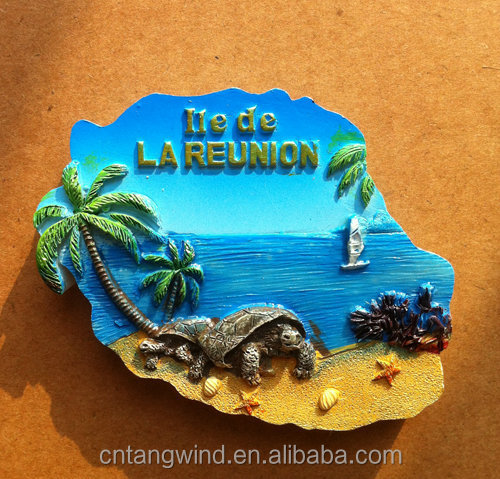 custom 3d resin souvenir fridge magnet