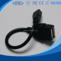 Manufacturer for Micro to USB Host OTG Adapter Cable for Samsung Galaxy S4 i9500 S3 i9300 S2 i9100