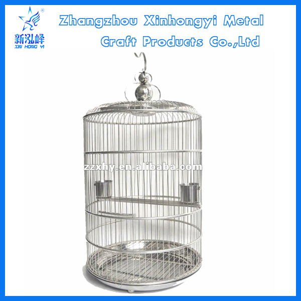 Designer Stainless Steel Bird Carrier for Finches & Canaries