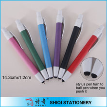 biodegradable recycled colorful paper Ball Pen stylus pen