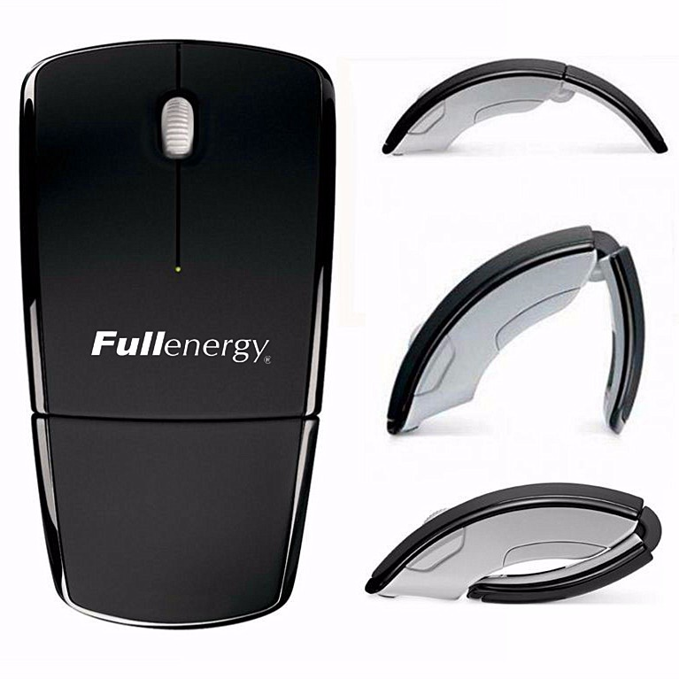 Portable 3D Optical Wireless Mouse Folding Foldable ARC Wireless Mice
