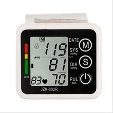 Hot-selling Wrist Talking Digital Blood Pressure Monitor With CE
