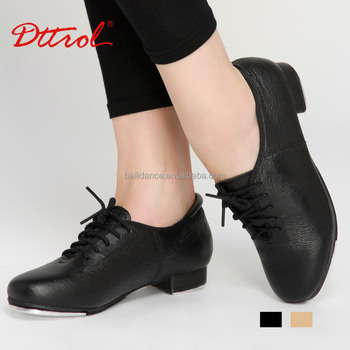 D004725 Dttrol Dance Oxford Pig leather Tap Shoes
