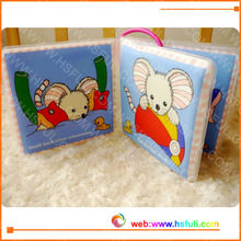 Baby bath washable book