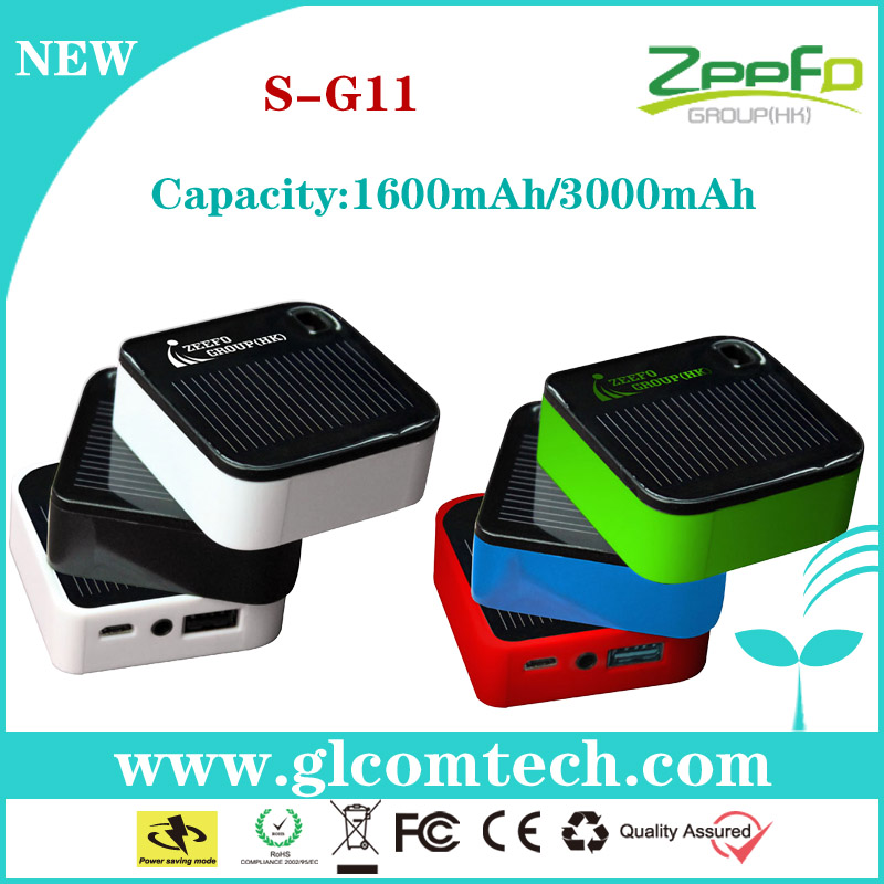 2014 New product rechargeable 3000mAh solar charger for handphone