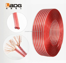 High quality pvc cover speaker cable wire,speaker wire cable ,copper /cca conductor