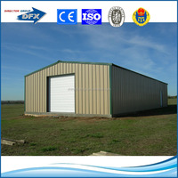prefabricated light steel frame construction industrial and commercial application steel building