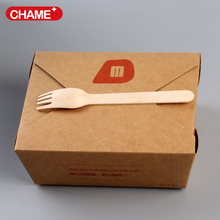 disposable paper material kebab box, doner box manufacture