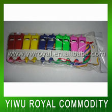 Cheapest Stock Plastic Whistle With Necklace