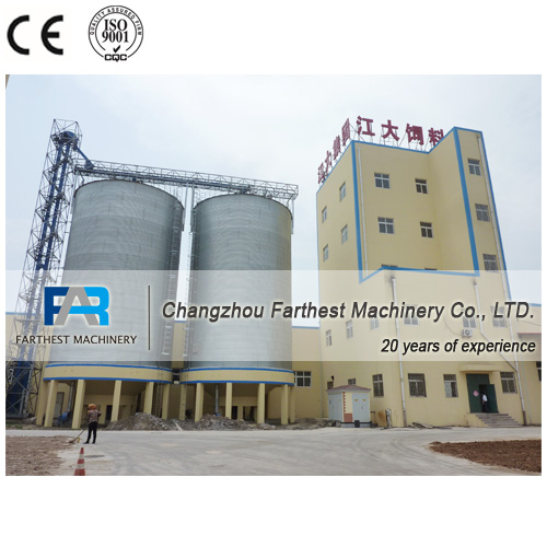 Turnkey Poultry Projects Cattle Feed Mill Plant For Sale
