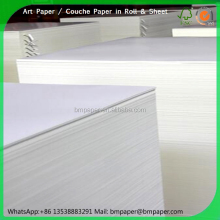 48gsm 50gsm 51gsm 54gsm 58gsm 60gsm 64gsm light weight coated paper for printing magazine pictures