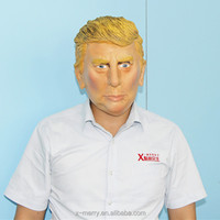 X-MERRY celebrity latex mask crossdresser realistic donald trump masquerade masks