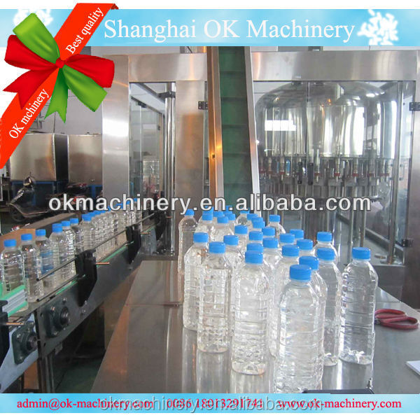 4000 Liter per hour Water filling sealing machine