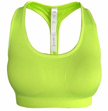New Arrival Fruit Color Workout Design Exercise Fitness Young Girl Sport Seamless Hot Sex Women's Sports Bra