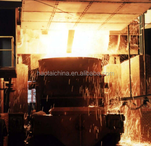 Tin concentrate smelting electric arc furnace
