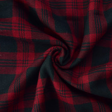 hot sell stocklot 100% cotton yarn dyed plaid shirting fabric in keqiao warehouse
