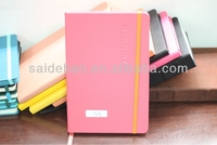wholesale notebook with elastic band,pu leather notebook buy china manufacture