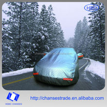 Silvery Car Covers Hail Protection 3 Layer Thickened Hail Protective Car Cover Auto Protection for Russian