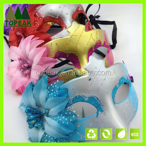 Flower design Masquerade Party Carnival Mask Halloween Karneval party face mask