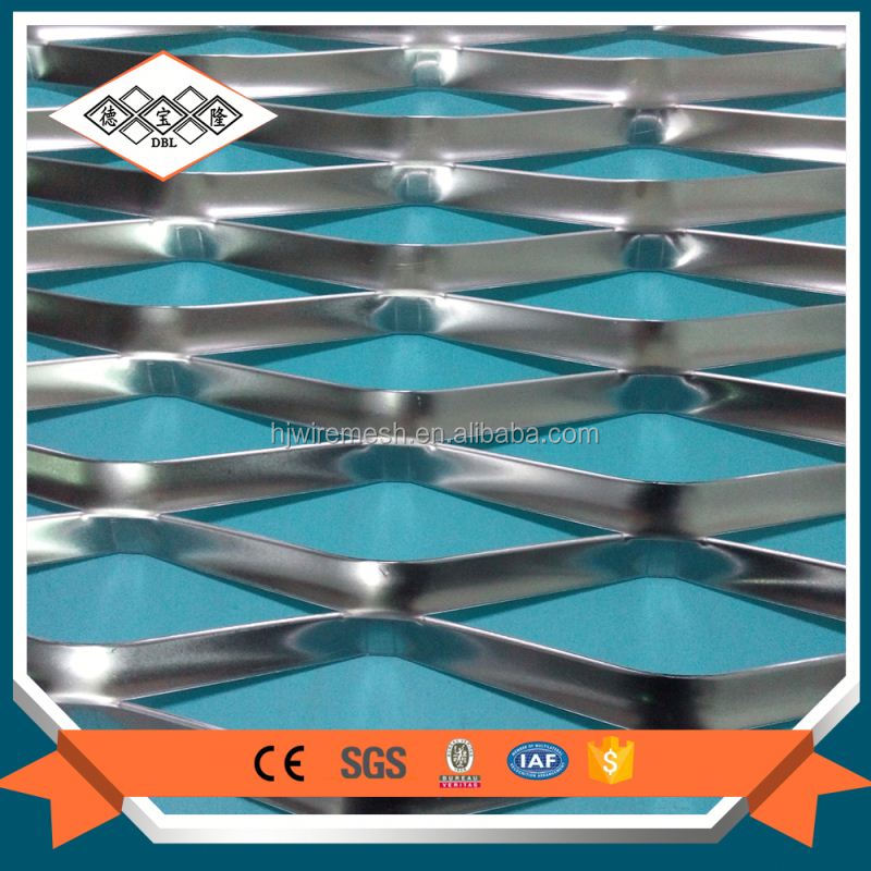 Aluminum expanded metal mesh lath for car guard
