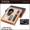 gift box wholesale Cigar gift set Carbon fiber cigar lighter ashtray tube