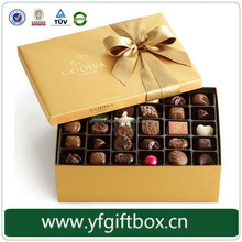 High-grade packaging box for chocolates ferrero