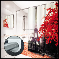 HOTSALE polyester shower curtain