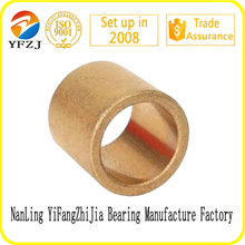 oilite oilless bushing/sintered bronze bearing/brass bearing brass bush china manufacturer