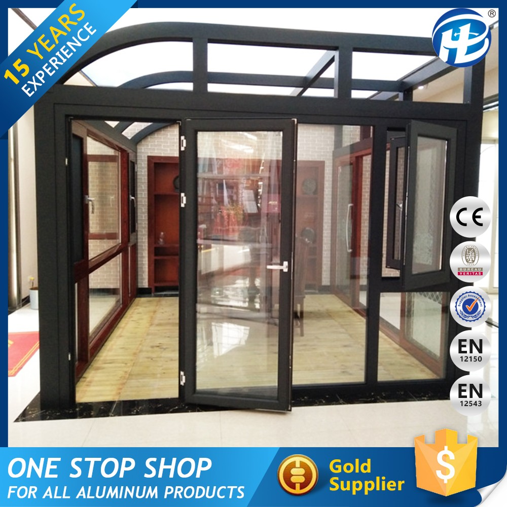Oem Manufacturer Aluminum Sunlight Glass Room