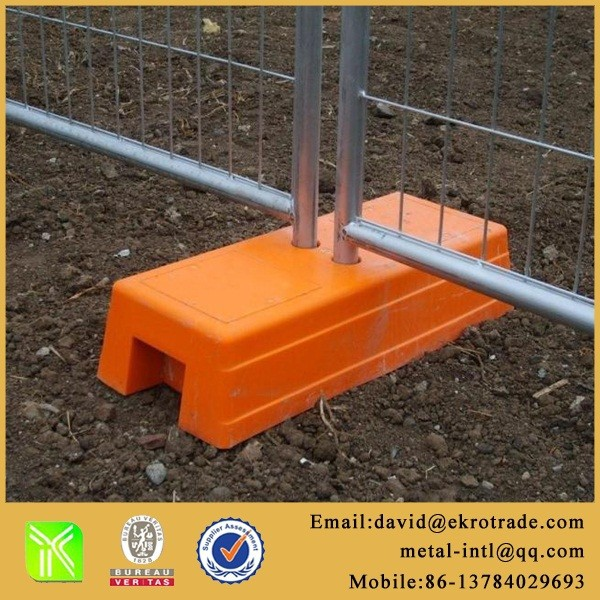 Hot dipped galvanized temporary fence panel for construction