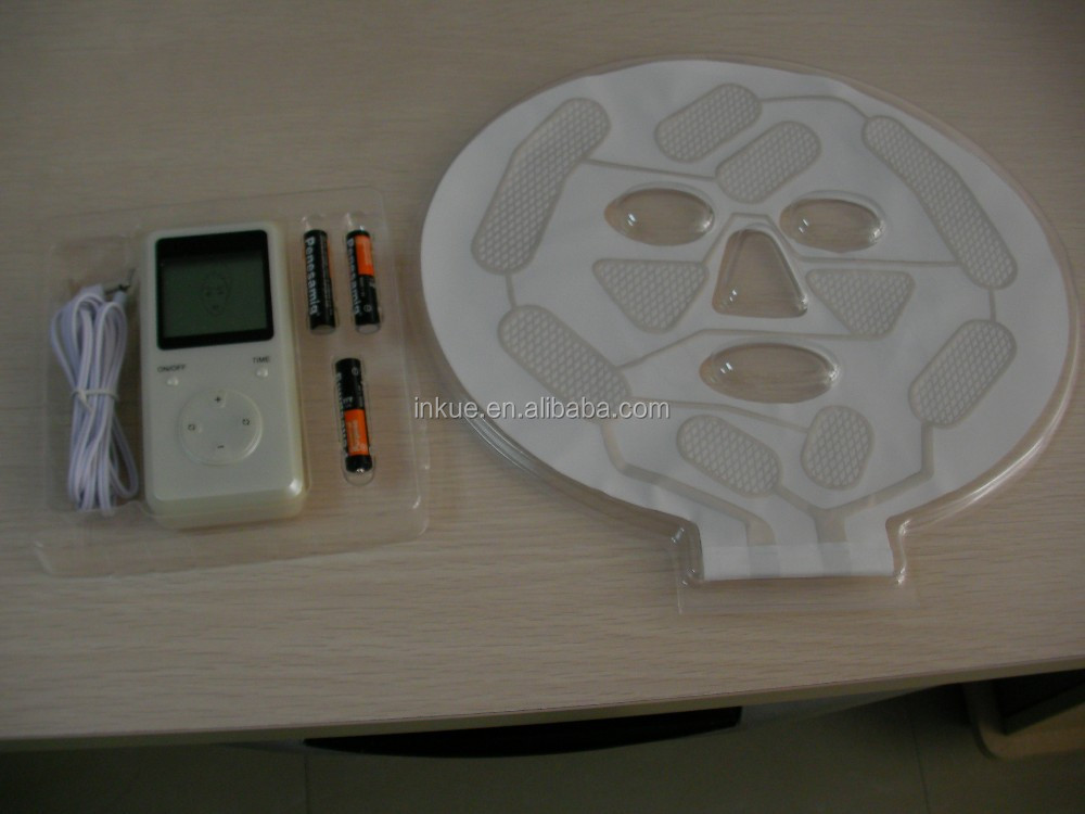 BIO-10000 HOT electrotherapy anti-aging whitening collagen bio microcurrent facial mask / bio lifting face mask machine