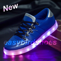 adults led shoes for lovers, 2016 latest style for man and women new design