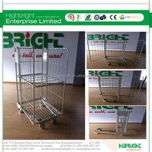 foldable steel roll cage/roll tainer/roll container