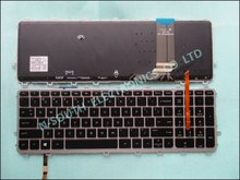 Original for hp for envy 15-j 17-j backlit 711505-001 US Notebook keyboard