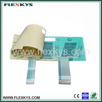 Plastic pcb membrane keyboard made in China