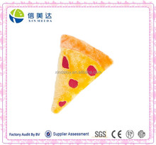Pizza Shaped Funny Plush Dog Pet Toy