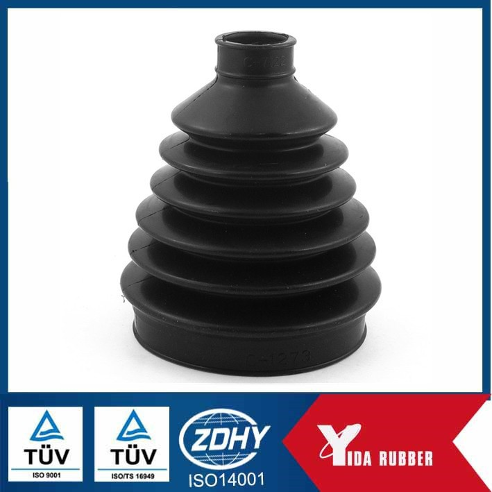 rubber dust cover /flexible rubber bellows NBR/EPDM/SIL Rubber Bellows