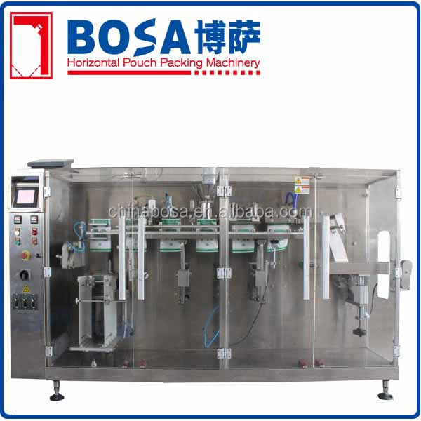 stand up pouch dried mango filling and sealing machine china