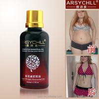 oem loss weight fat burning body slim essential oil massage for men and women