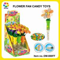 Dinosaur Character Candy Fan in Display