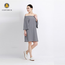 Women new ladies fashion summer casual dresses manufacturer