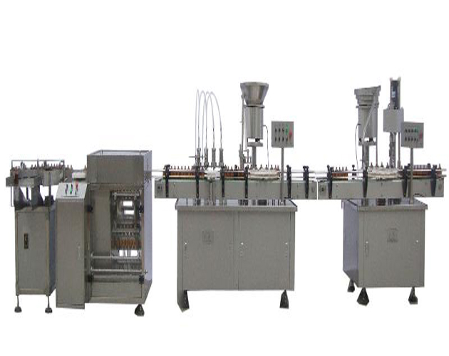 Bottle Water Filling Packing Line/Automatic Liquid Bottle Packaging Machinery for Water