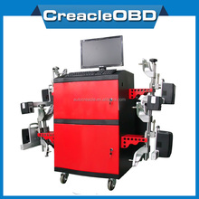 4-Wheel Alignment with Self-Diagnosis and Self-Conrrection and Self-Repair Functions